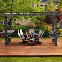 Backyard Discovery Barnwood 14 x 10 Oasis Pergola