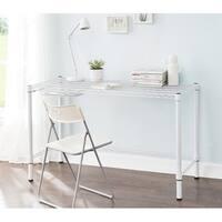 Suprima Heavy Duty Carbon Steel Desk - Standard Size - White