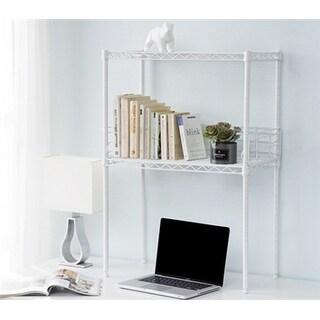 Suprima Mini Desktop Carbon Steel Bookshelf - Small Version