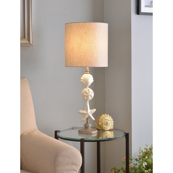 """Mediterranean 28.5"""" Table Lamp - Silvered Gold"""