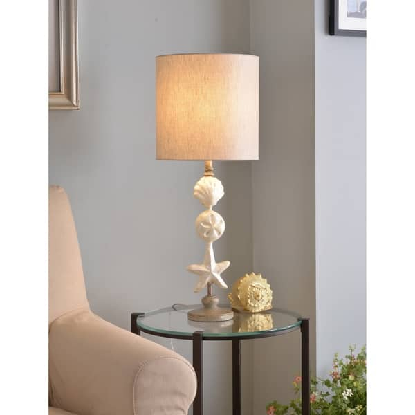 Awesome Mediterranean 28 5 Table Lamp Silvered Gold Cjindustries Chair Design For Home Cjindustriesco