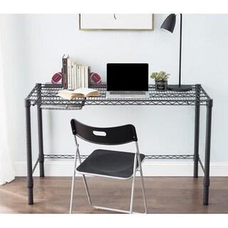 Suprima Heavy Duty Carbon Steel Desk - Standard Size - Gunmetal Gray