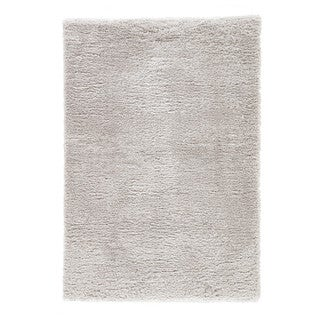 Cecily Solid Light Gray Area Rug - 2' x 3'