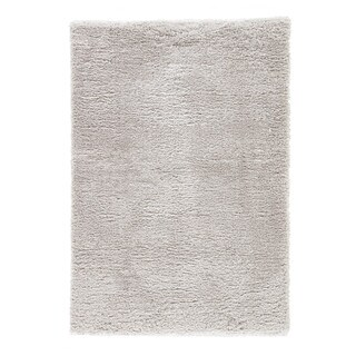 Cecily Solid Light Gray Area Rug (5' X 8') - 5' x 8'