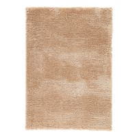 Cecily Solid Tan Area Rug (5' X 8')