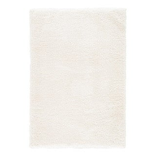 Cecily Solid White Area Rug (5' X 8')