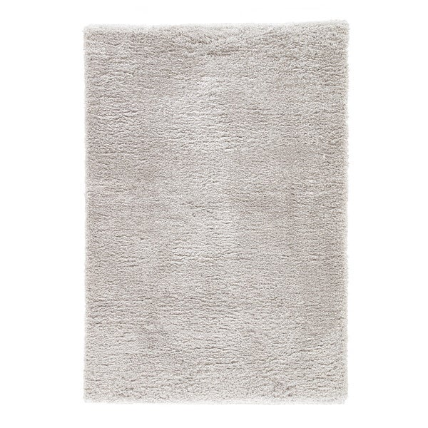 Shop Cecily Solid Light Gray Area Rug 4 X 6 On Sale Free