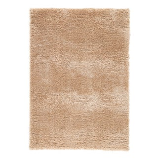 Cecily Solid Tan Area Rug (4' X 6') - 4' x 6'