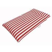 Drift and Escape Chaise Mattress - Red Luxury Fabric Float - Morgan Dwyer Signature Series