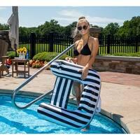 Drift and Escape Drifter U-Seat - Black Luxury Fabric Float - Morgan Dwyer Signature Series