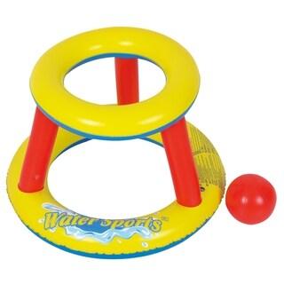 RhinoMaster Play Blow Up Mini Splashketball - Inflatable Mini Basketball Pool Game