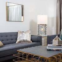 Varaluz Casa Rectangle Gold Mirror