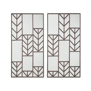Signature Design by Ashley Daniela 2pc Accent Mirrors