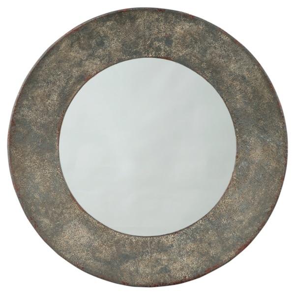 Carine Accent Mirror - Antique Bronze
