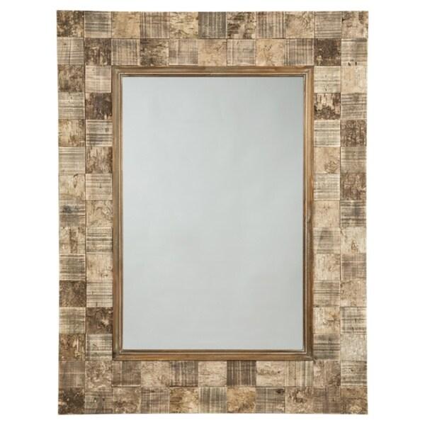 Ivanna Accent Mirror - Brown