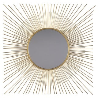 Signature Design by Ashley Elspeth Accent Mirror - Antique Gold - N/A