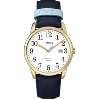 d038c871e Quick View. $51.49. Timex Women's TW2R62600 Easy Reader 38mm Blue/Gold-Tone  Leather Strap Watch - Blue. 5 Stars. 2 · Quick View