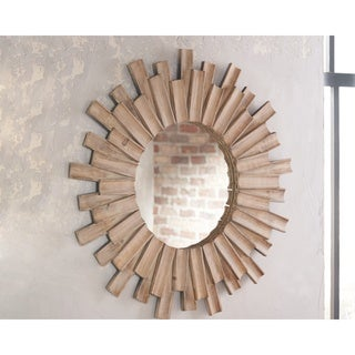 Donata Accent Mirror - Brown