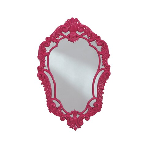 Signature Design by Ashley Diza Accent Mirror - Pink - N/A