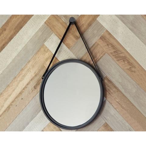Dusan Accent Mirror - Black