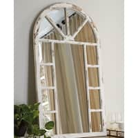 Divakar Accent Mirror - Antique White