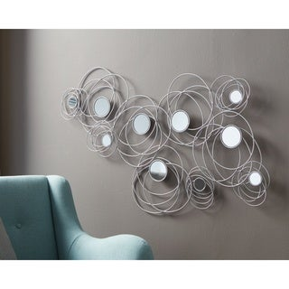 Desi Accent Mirror - Silver