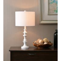 "Campeau 21"" Accent Lamp - White"