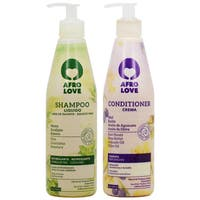 Afro Love 16-ounce Shampoo & Conditioner Duo