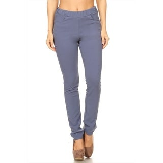 Women's Solid Slim Fit Pants