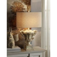 Gabriella Sand Stone 31-inch Table Lamp