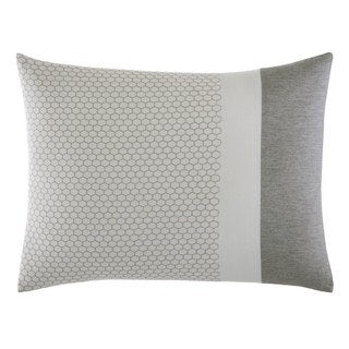 Vera Wang Tuille Floral Honeycomb Throw Pillow