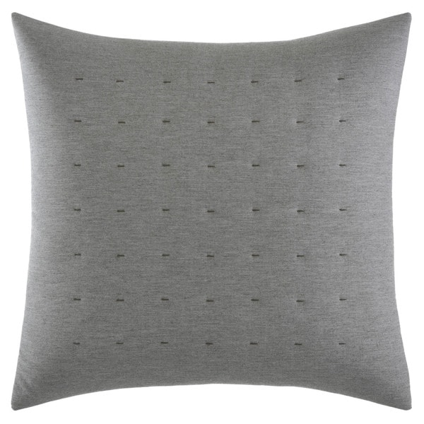 Vera Wang Tuille Floral Tufted Throw Pillow