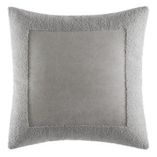 Vera Wang Transparent Leaves Terry Border Throw Pillow