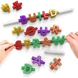 Spelly Straws - Build Your Own Straw - multi
