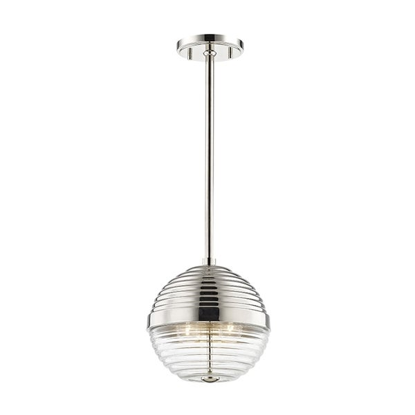 Hudson Valley Easton 3-light Polished Nickel Small Pendant