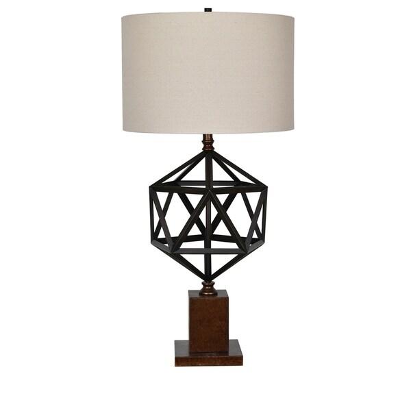 Devon Oil Bronze 35-inch Table Lamp