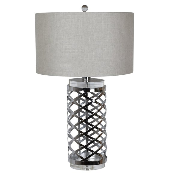 Studio Chrome 29-inch Table Lamp