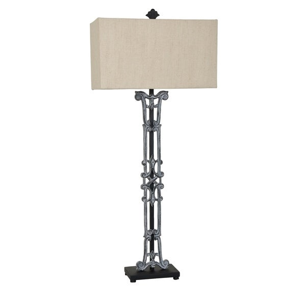 Maxwell Antique Iron 42-inch Table Lamp