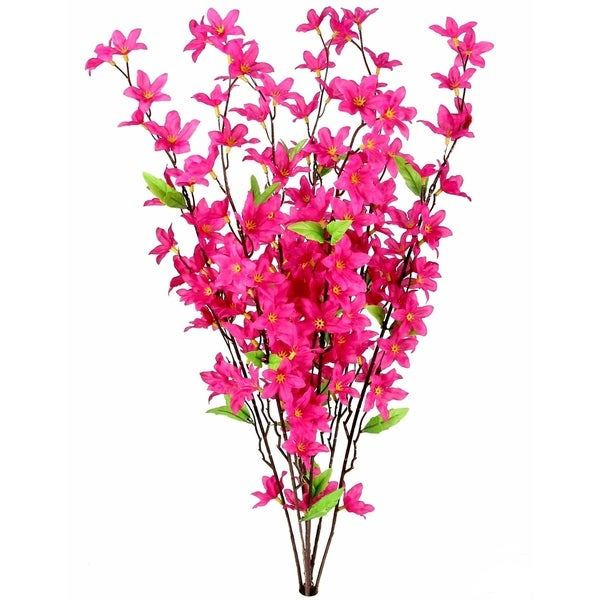 7 Stems Artificial Star Flower Bush for Home Office Decoration. Opens flyout.