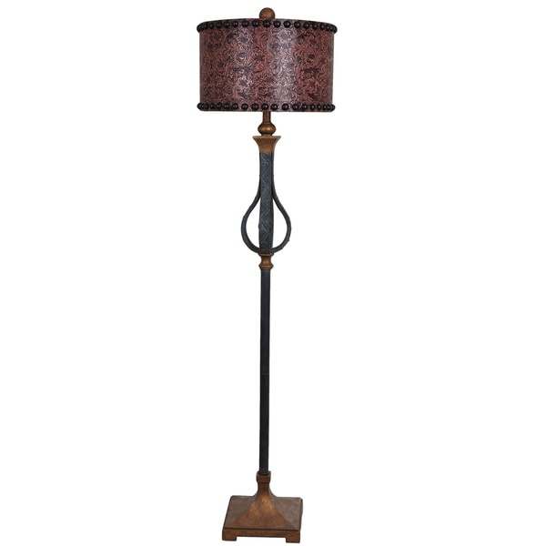 Rambler Antique Iron 65.5-inch Floor Lamp