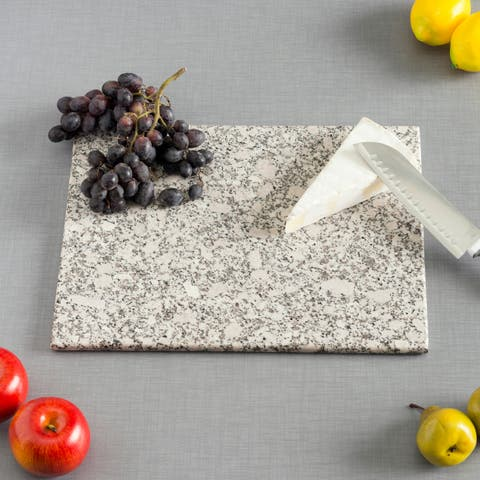 Home Basics White Granite Cutting Board