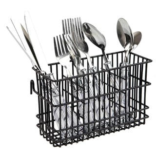 Link to Home Basics Black Hanging Cutlery Holder Similar Items in Kitchen Storage