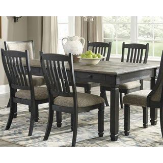 Tyler Creek Counter Height Dining Room Table - Black/Gray