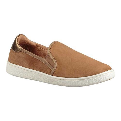 Women's UGG Cas Slip On Sneaker Chestnut Suede