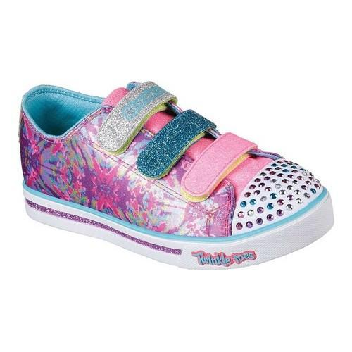 e5e10fb01c47 Shop Girls' Skechers Twinkle Toes Shuffles Sparkle Glitz Pop Party Shoe Hot  Pink/Multi - Free Shipping Today - Overstock - 18085767