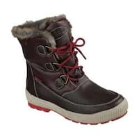 Women's Skechers Woodland Mid Calf Cold Weather Boot Chocolate