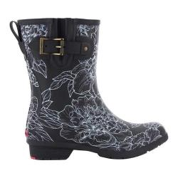 Women's Chooka Cora Mid Rain Boot Black
