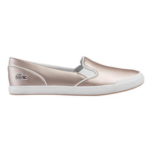 7e8fa4cb4b9f5 Shop Women s Lacoste Lancelle 117 2 Slip-On Light Pink Leather - On Sale -  Free Shipping On Orders Over  45 - Overstock.com - 18109413
