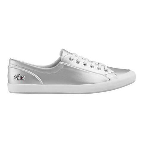 96413d66acec Women s Lacoste Lancelle 6 Eye Sneaker Light Grey Synthetic