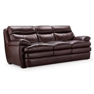Genial Kimble Top Grain Leather Sofa